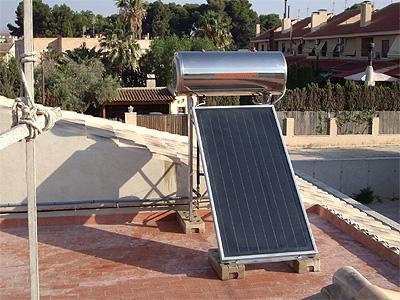 Aigua calenta solar - Placa solar termica ...